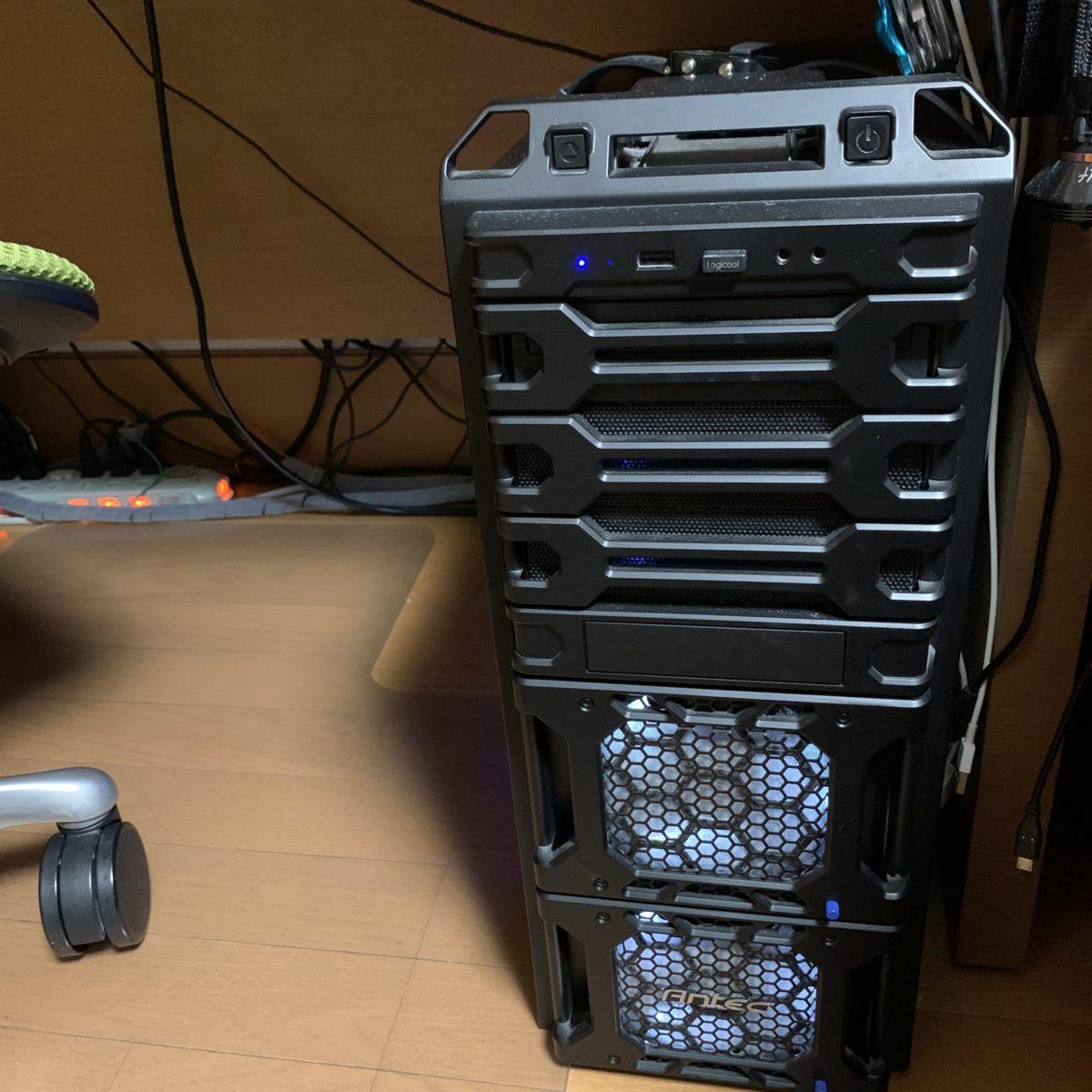 爆速PCを組んでみた - その1