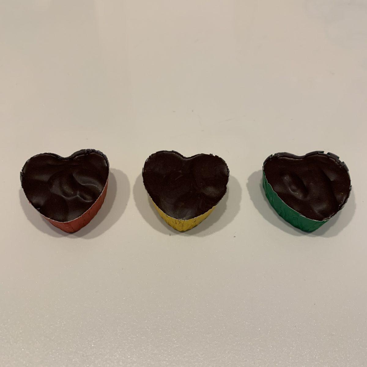 フランボワーズチョコレートを作ってみた